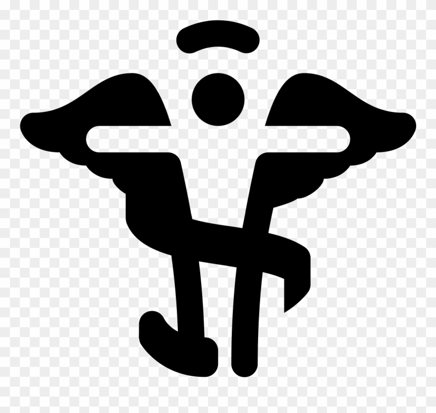 Chiropractic Caduceus Icon.