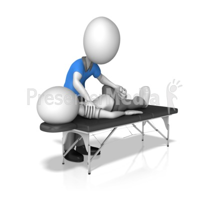 Chiropractor With Patient.