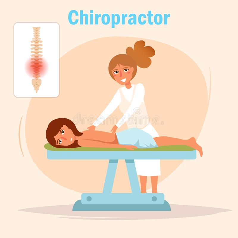 Chiropractor Stock Illustrations.
