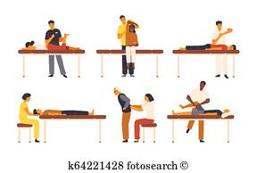 Chiropractic Adjustment Clipart.
