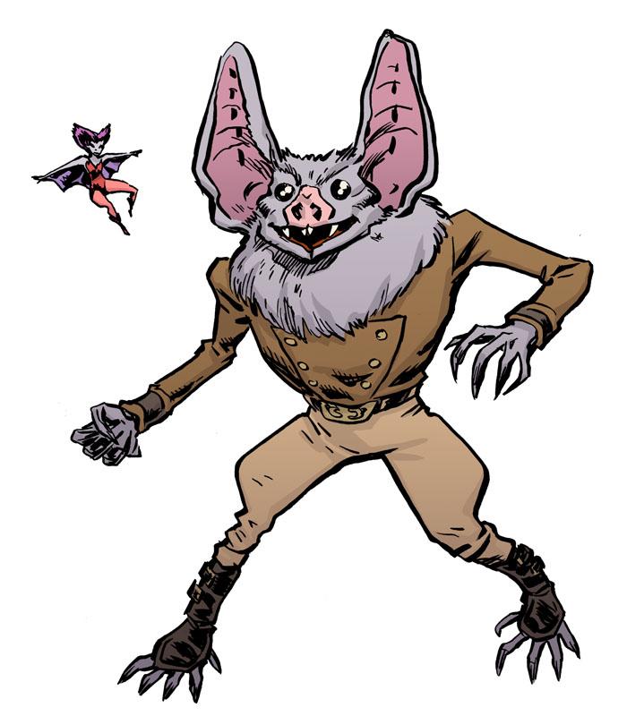 Vampire Bat Images.
