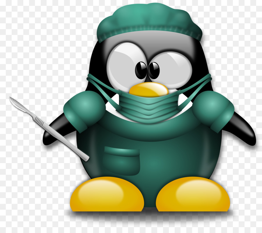 Pinguino Chirurgo Chirurgia Medico Clip art.