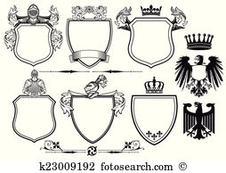 Chivalrous Clipart and Illustration. 50 chivalrous clip art vector.