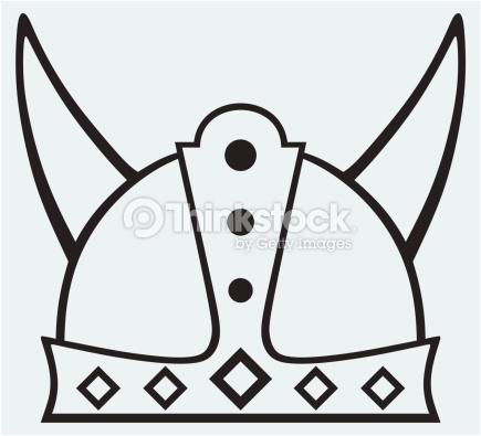 Helmet Icon Vector Art.