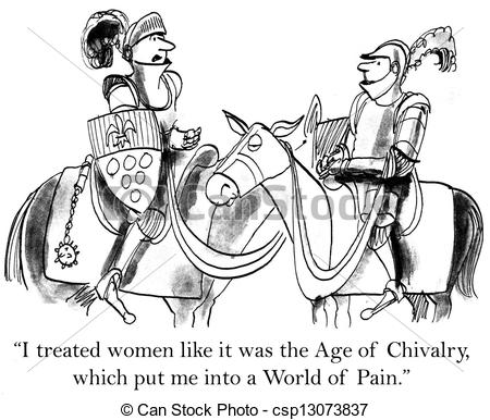 Chivalry clipart.