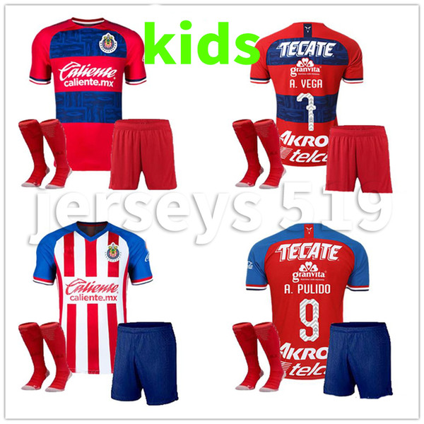2019 Kids Kit +Sock 2019 20202 CHIVAS Club LIGA MX Club America CHIVAS  Guadalajara UNAM TIGRES Soccer Jersey 19 20 Football From Jerseys519,  $15.23.