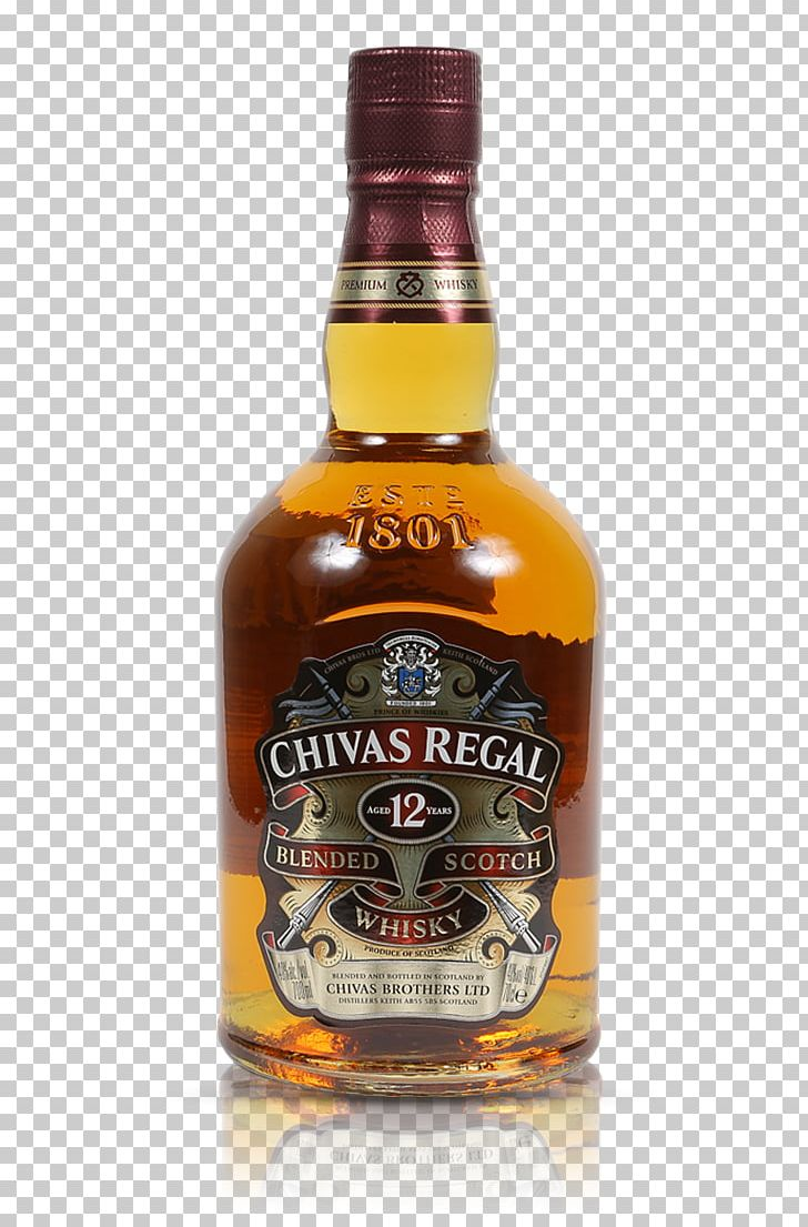 Chivas Regal Blended Whiskey Scotch Whisky Liquor PNG, Clipart.