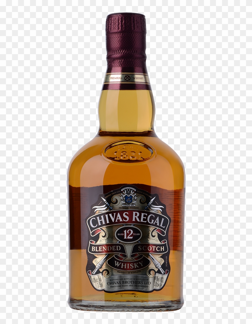 Chivas Regal 12 , Png Download.