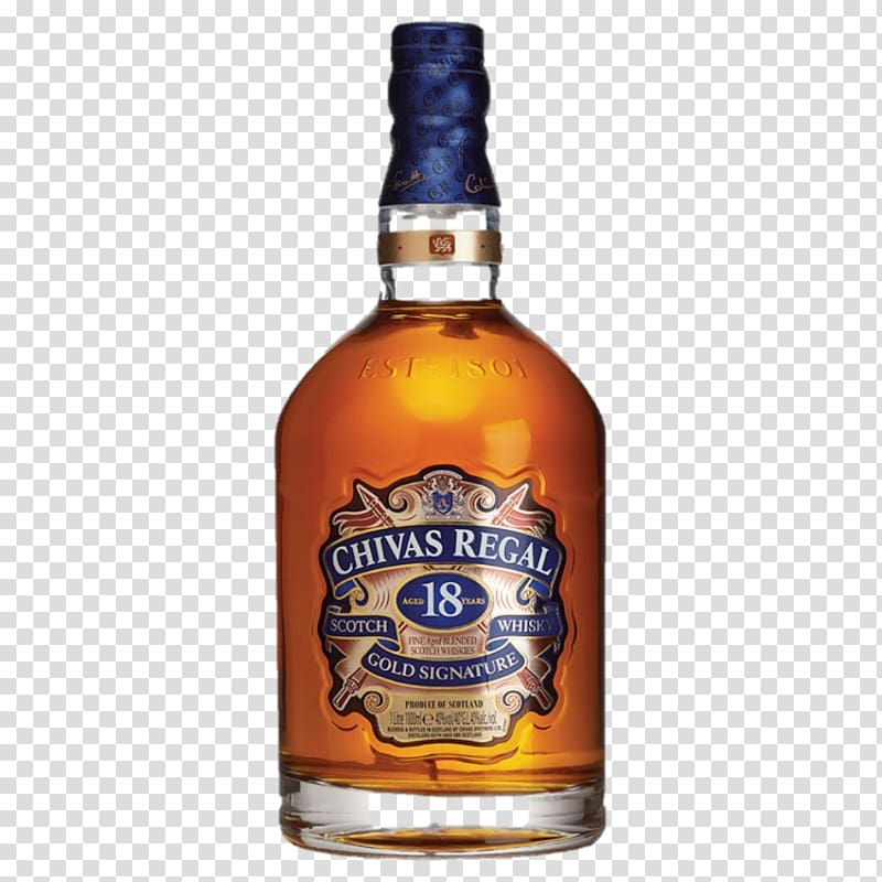 Chivas Regal Scotch whisky Blended whiskey Distilled beverage.