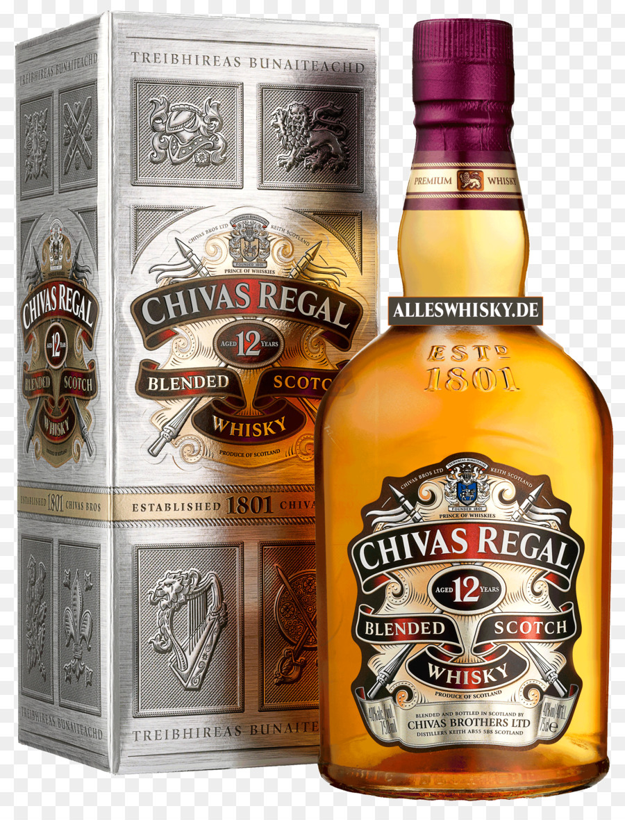 Chivas Regal Scotch whisky Blended whiskey Single malt.