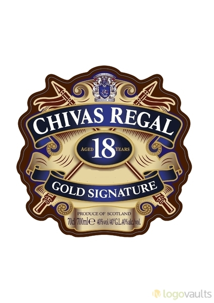 Chivas Regal 18 Gold Signature Logo (JPG Logo).
