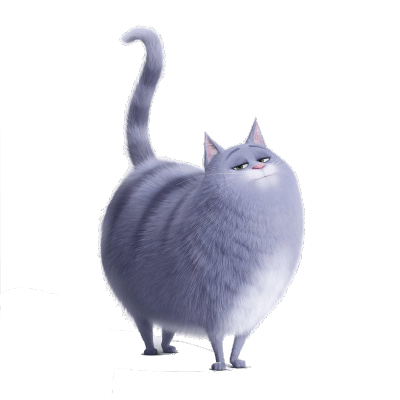 Chloe Tail In the Air transparent PNG.