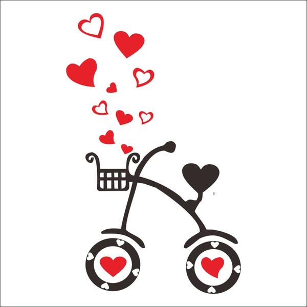 CHM Love Heart Sign Logo Motto Quote Symbol Wall Decal Art Sticker Picture  Amor Corazon Regalo De Boda Etiqueta De R5th Vinyl Wall Art Decal Vinyl.