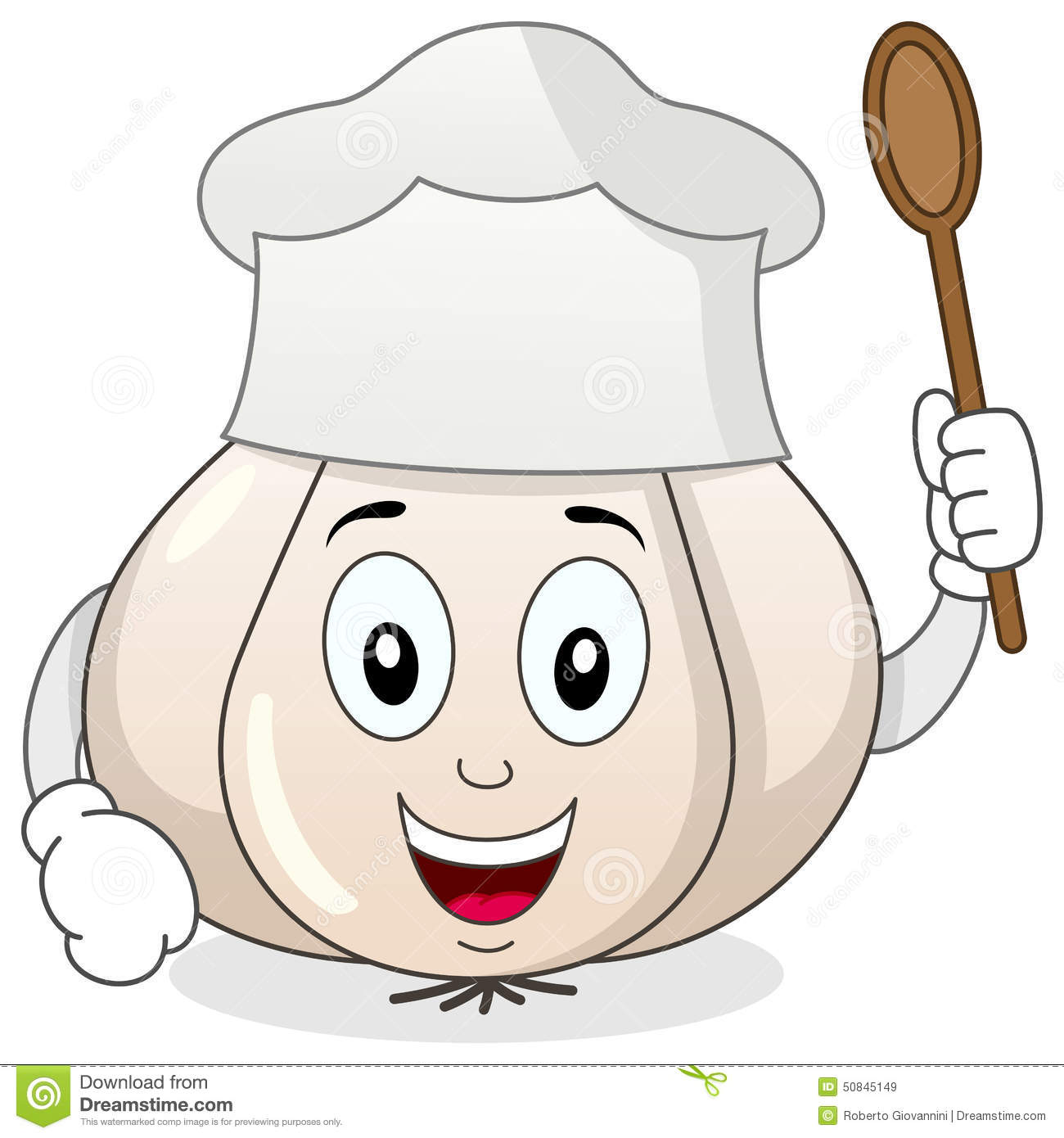 Chef Egg Character With Tray And Spoon Stock Vector.