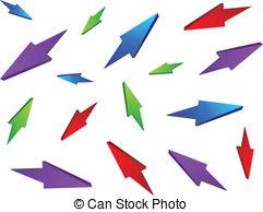 Arrows chaos Vector Clip Art Illustrations. 229 Arrows chaos.