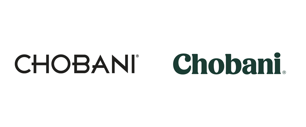 Brand New: New Logo, Identity, and Packaging for Chobani done In.