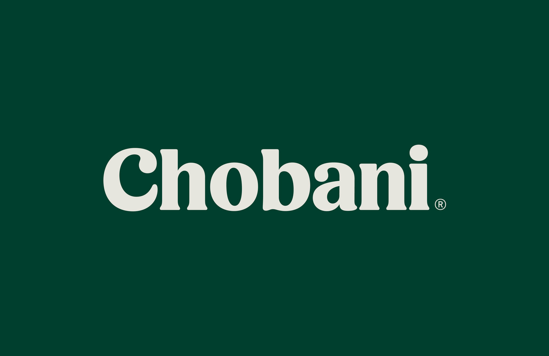 Chobani's creamy new logotype — TYPE Magazine.