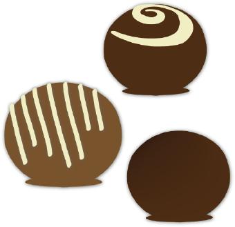 Free clip art chocolate.