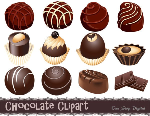 truffle chocolates clipart clipground