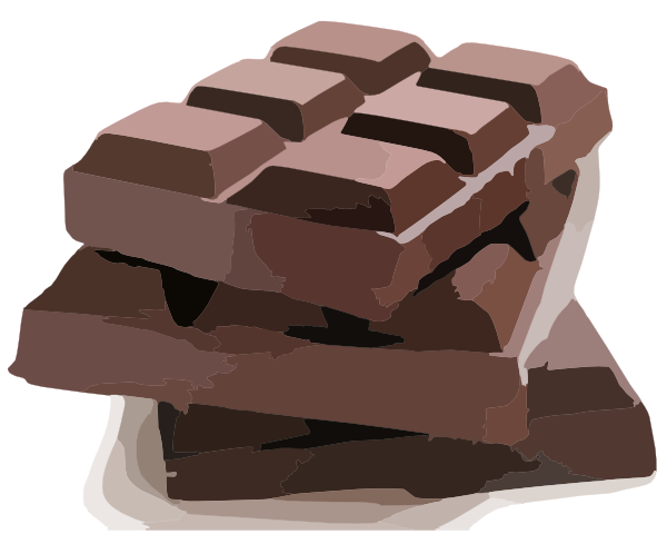 Animated chocolate clip art.