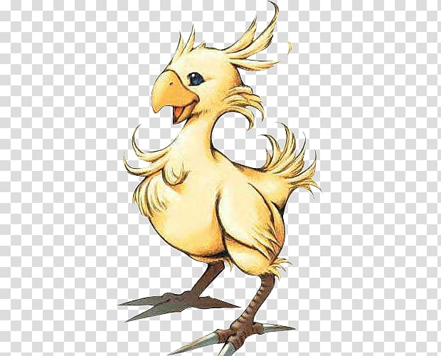 Final Fantasy VIII Chocobo, others transparent background.