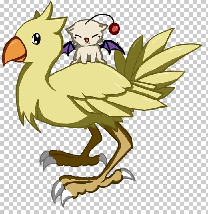 Chocobo Mog Final Fantasy Spoonflower Pattern PNG, Clipart, Art.