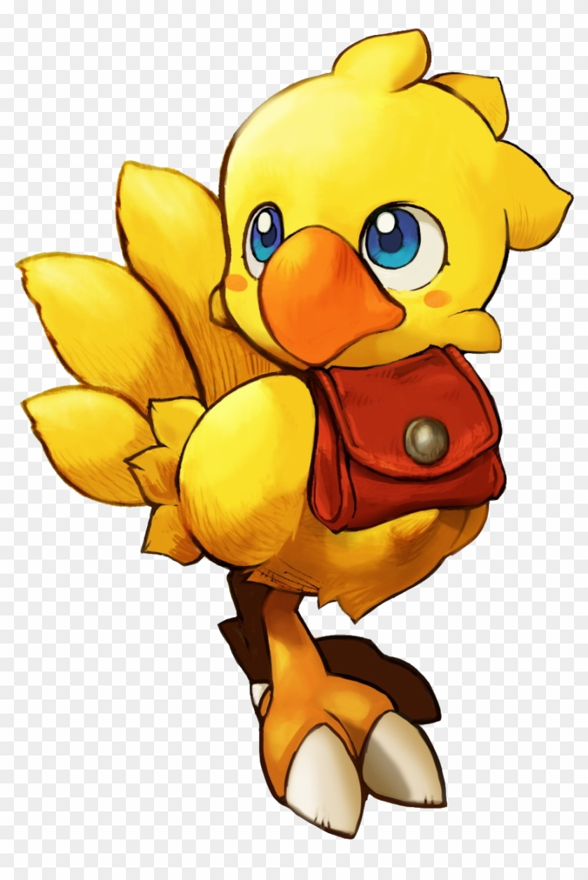 Chocobo Transparent Svg Free Stock, HD Png Download.