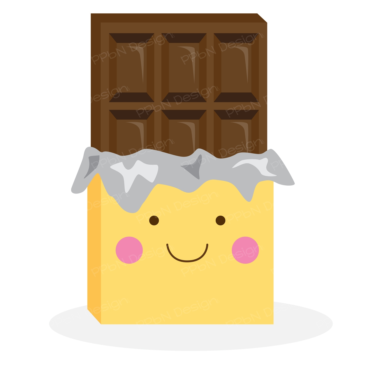 Chocolate Clipart Cute.
