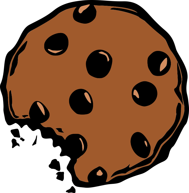 Clipart chocolate chip cookies.