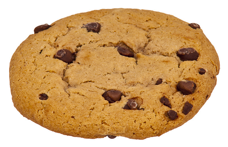 Chocolate chip cookies clipart free.