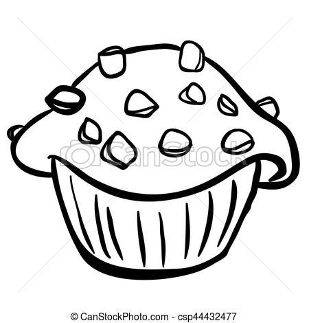 Clipart chocolate black and white 2 » Clipart Portal.