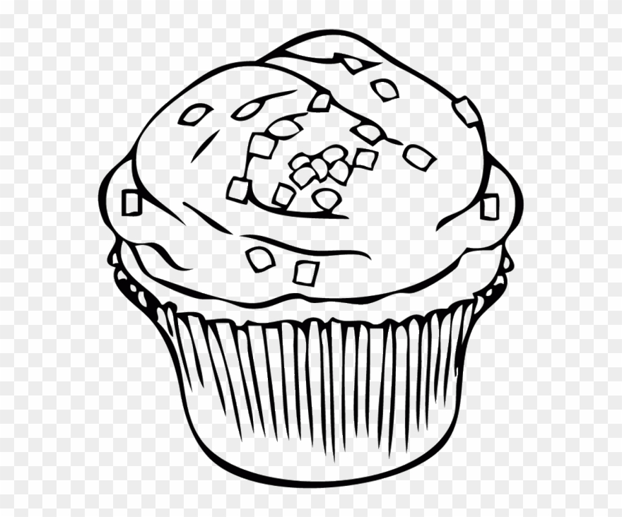 Chocolate Cookie At Getdrawings Clipart Black And White.