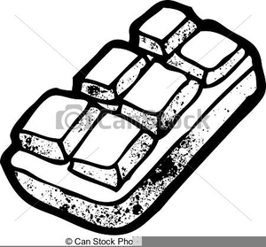 Chocolate Bar Clipart Black And White.