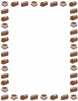 Chocolate Border.