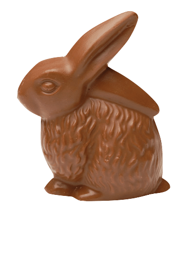 Milk Chocolate Easter Bunny transparent PNG.