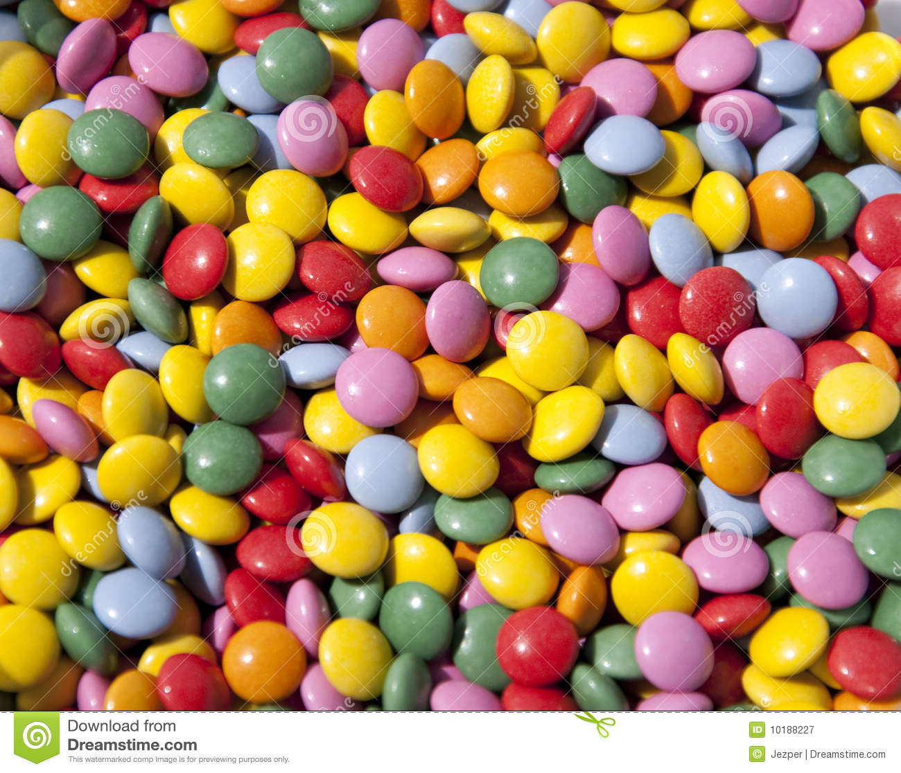 Chocolate Buttons Candy Royalty Free Stock Photography.
