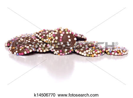 Stock Photography of chocolate buttons k14506770.