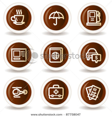 Travel_Web_Icons_Set_4_Chocolate_Buttons_Vector_Clipart_Illustration_111211.