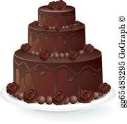 Chocolate Cake Clip Art.