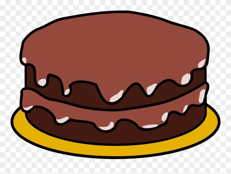 Chocolate Cake Clipart.
