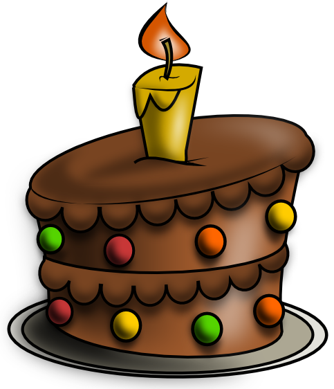 Clipart chocolate cake.