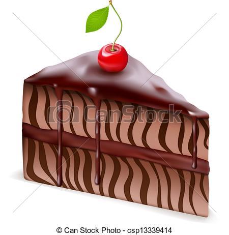 Clipart german chocolate cake.