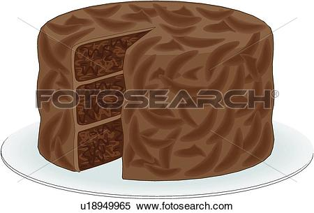 Chocolate cake Clipart EPS Images. 19,277 chocolate cake clip art.