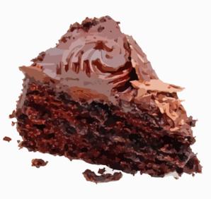 Chocolate Cake Slice Clip Art at Clker.com.
