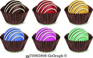 Chocolate Candy Clip Art.