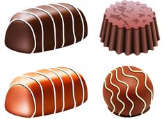 Chocolate candy clipart.