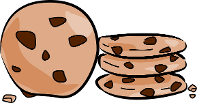 Chocolate Chip Cookie Clipart.