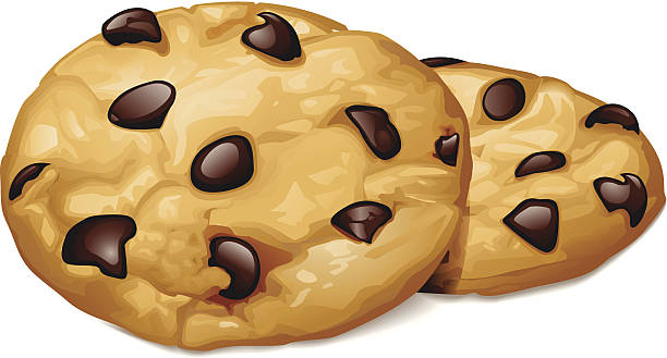 Best Chocolate Chip Cookie Illustrations, Royalty.