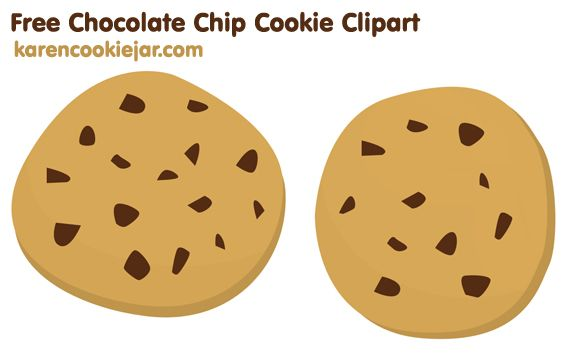 free chocolate chip cookie clipart.