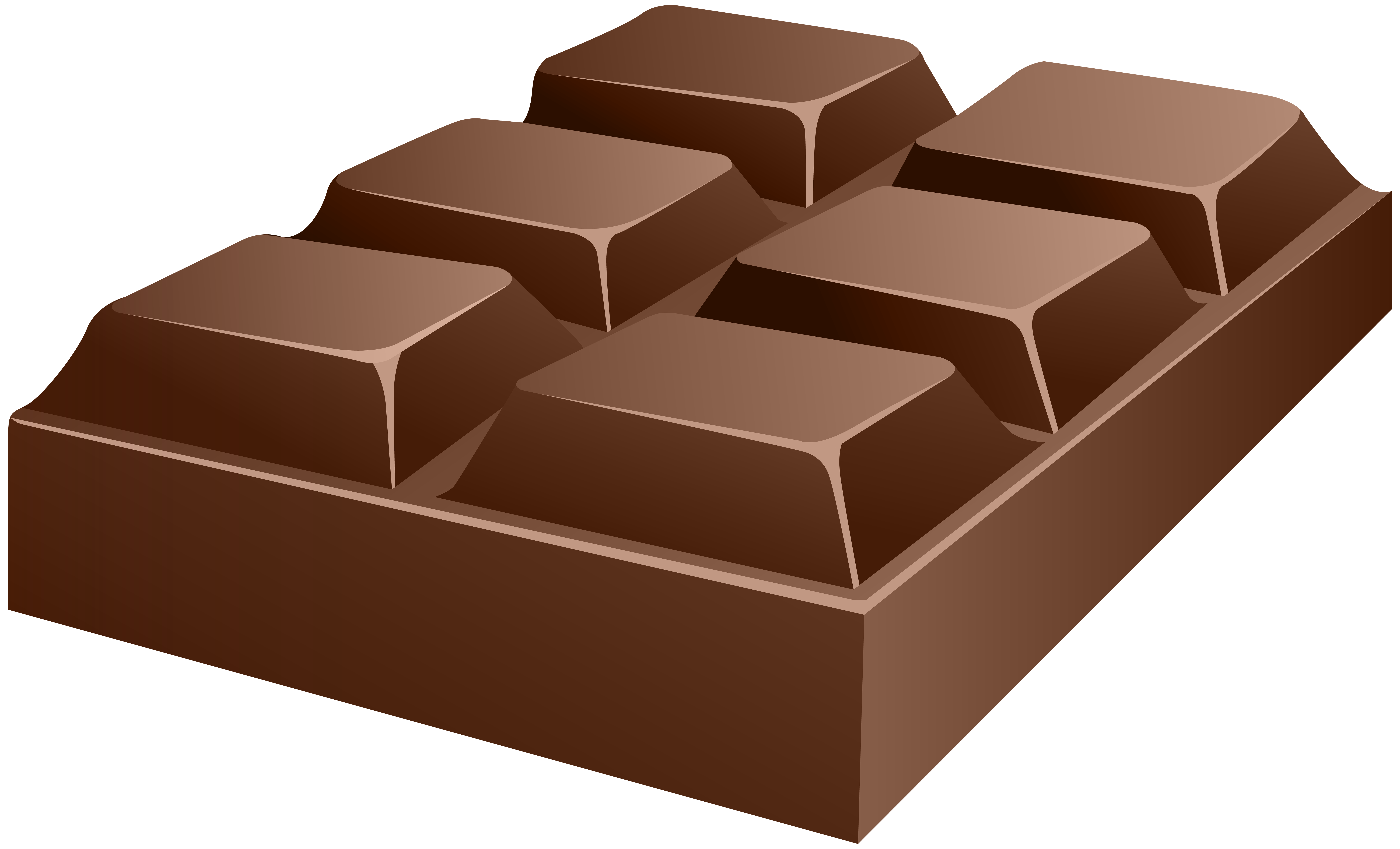 Chocolate PNG Clip Art Image.
